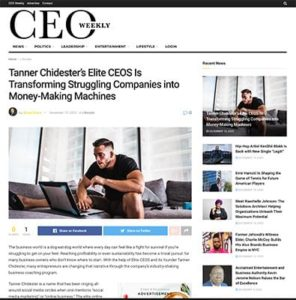 Tanner Chidester CEO